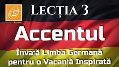 Just in: Lectia 3 - Accentul - Invata Limba Germana pentru o Vacanta Inspirata  https://youtube.com/watch?v=Y49B8DJsSKw