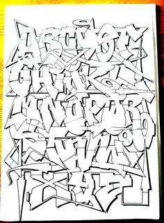Graffiti Lettering Alphabet, Chicano Lettering, Graffiti Words, Graffiti Writing, Best Graffiti, Graffiti Tagging, Graffiti Artwork, Graffiti Styles, Calligraphy Alphabet