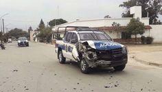 Espectacular persecución desde Güemes hasta Campo Santo, a una camioneta que transportaba marihuana: El patrullero logró interceptar a los…