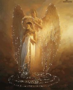 The Light we receive from the Angels is calming, healing and will Light us up if we will receive it fully.  Their messages always have an Energy that comes with the words that if you allow your self to receive fully gives healing  and release from fears and worries.