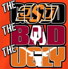 + Oklahoma State Cowboys Football T-Shirts - The Good The Bad The Ugly