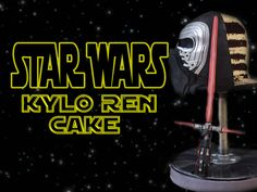 KYLO REN CAKE - STAR WARS THE FORCE AWAKENS. Original video here - https://www.youtube.com/watch?v=vFCDcUbA0WQ