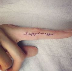 Finger tattoo meanings, designs and ideas with great images. Learn about the story of finger tats and symbolism.