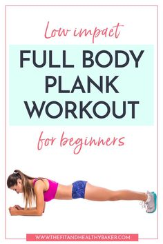 Getting back into the swing of working out? Need a great in-home routine that will strengthen without hurting your joints? Click through for this Low Impact Full Body Plank Workout for Beginners. Quick Weight Loss Tips, Weight Loss Help, Weight Loss Program, How To Lose Weight Fast, Reduce Weight, Full Body Strength Workout, Plank Workout, Workout Abs, Workout For Beginners