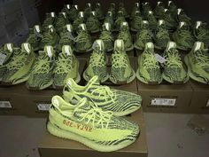 2802d44d1 Orders at Release Eve of Adidas Yeezy Boost 350 V2 Yebra Semi Frozen Yellow  from www