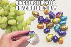 April Fool's Day, Practical joke, Easter, Joke, YouTube, Easter egg: SINCE EASTER FALLS ONAPRIL FOOL'S DAY