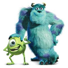 monsters inc mike and sulley - Google Search