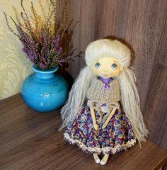 Dollshandmade rag dollhomedecorprimitive by CozyDOLLfromJulia