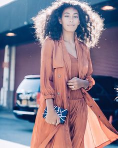 """@saintrecords #SolangeKnowles captured today outside of @31philliplim by @naskademini #instafashion #instastyle #fashion #Fashionbombdaily #style #nyfw…"""