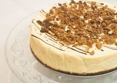 Pepernoten-cheesecake Pie Recipes, Sweet Recipes, Healthy Mind And Body, Pie Cake, Sweet Cakes, High Tea, Tiramisu, Cheesecake, Good Food