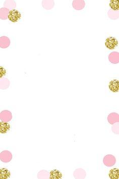 Baby Shower Invitations, Birthday Invitations, 1st Birthday Parties, Birthday Cards, Digital Paper Free, 1st Birthday Pictures, Girl Birthday Decorations, Invitation Background, Birthday Template