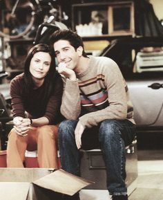 Friends - Monica & Ross
