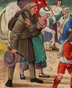 c. 1501 Hans Burckmaier - Triumph of Emperor Maximilian I, King of Hungary, Dalmatia and Croatia, Archduke of Austria. Second file link PAGE 50