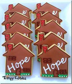 Ronald McDonald House Hope cookies #customsugarcookies