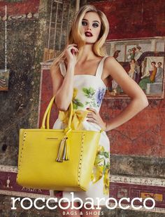 Rocco Barocco Shoes and Bags Campaign S/S 2014 | Designer Collection from Fashion and Style