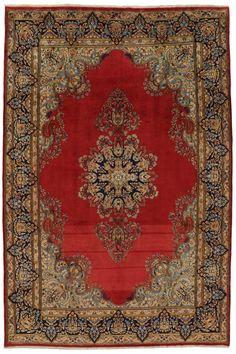 Kerman - Lavar Persian Carpet 333x220