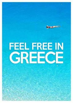 Feel free in Greece