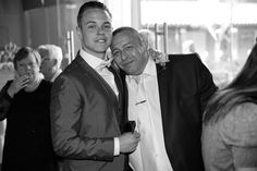 The groom and his father. Bride & groom getting married outside in traditional style at Theobald's Park Hotel North London. Photography Photos, Wedding Photography, Park Hotel, North London, Best Memories, Flower Dresses, On Your Wedding Day, Bride Groom, Candid
