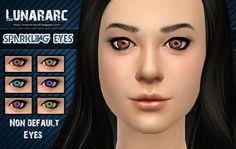 Lunararc Sims : Sparkling Eyes - Non deafult contacts