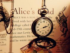 Alice and the time piece