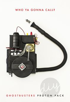 DIY Ghostbusters Proton Pack