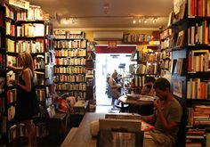 Books and coffee, why were they ever apart?  Bookshop cafes in Sydney.