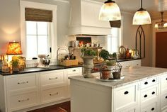 benjamin moore titanium  kitchen | - also a good representation of woven shades