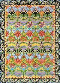 Kaleidoscope II, Quilt, Jane Sassaman