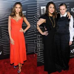 Jessica Alba and Lena Dunham hit the Webby Awards!