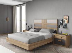 Dormitorio moderno (168 – D24) - Muebles CASANOVA