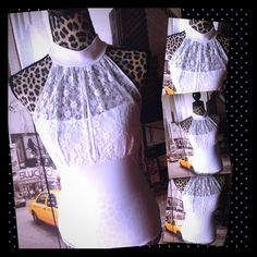 ⏰⚡️5 FOR $30 classy sexy white lace medium top New Beautiful crisp white halter top this halter top is sexy but also crossing it still has the tank size medium. ⏰⚡️5 FOR $30 ladies I am having a flash sale right now this will not last very long everything regardless of the price shown is five items for only $30 how does it work click on the five you like and I can create you a custom listing Tops Blouses