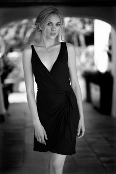 Vestidos negros de algodón hechos en Barcelona www.isabelasbcn.com