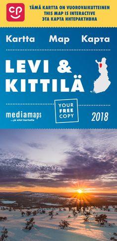 Uusi Mediamapsin Levi & Kittilä -kartta on ilmestynyt