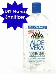 It's cold and flu season again, so in an effort to keep your hands germ free, and save a little money, here are a couple ways you can make DIY Hand Sanitizer.