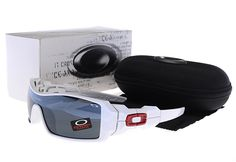 Oakley Canteen Sunglasses White Red Frame/Yellow Lenes