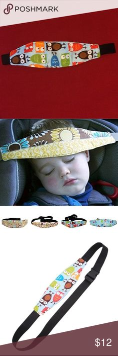 Infant/child waist/head safety car seat restraint Cute and trendy with colorful owls to keep our kids head from flopping forward and cutting off their airway when they fall asleep in the car, can also be used around the waist in shopping carts, strollers etc. Unknown Accessories Belts