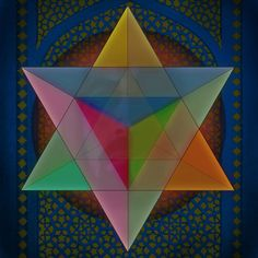 """MERKABAH, BODY OF LIGHT Merkaba, also spelled Merkabah, is the divine light vehicle allegedly used by ascended masters to connect with and reach those in tune with the higher realms. """"Mer&#82…"""