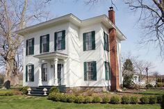 2012 Symphony Tour feature – beautifully & lovingly restored 1866 Italianate will win your heart. Comfortable yet historically significant – modern living w/ period & original details that must be seen. Spacious kitchen with center island-style farm table & pot rack (table is negotiable); custom butcher-block topped side tables flanking range + antique wall cupboard included; spacious laundry room & bath with shower at back entry makes for easy outdoor/indoor chores ;