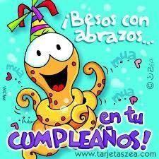 ¡Para un feliz cumpleaños!