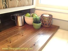 Wood Countertops (for Laundry Room here but still, It seems like the costs for wood countertops go: unseamed solid plank > boards > edge up blocks