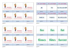 Un jeu de conjugaison pour apprendre et mémoriser la conjugaison au passé simple des verbes être, avoir et aller. Cycle 3, Bicycle Quotes, Weight Loss, Memories, Teaching, Education, School, Life, Montessori