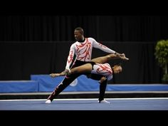 Natalie Victoria Friesling and Matome Tshishonga (RSA) : (difficulty : Orlando Usa, Acro Dance, Anatomy Practice, Acrobatic Gymnastics, South Africa, Presidents, Acting, Figure Reference, Victoria