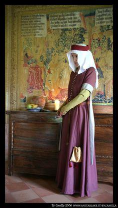Second half of 14th century italian costume