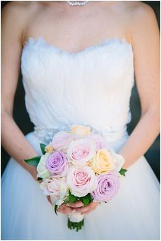 I love the dress! Blush bridal bouquet  | Image Emma Godfrey Photography