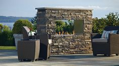 Outdoor Gas Fireplace Plateau PTO 30 - Regency Fireplace Products