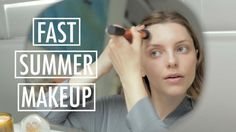 быстрый летний макияж
