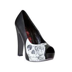 Metal Mulisha Schuhe / Footwear HEARTLESS PUMP Schwarz: Größe Schuhe: 8 - http://on-line-kaufen.de/metal-mulisha/8-herzlose-pumpe-des-hohen-absatzes-der-metal