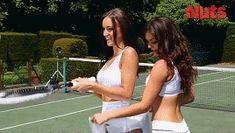 sexy tennis gorgeous nuts chica tenis chicas india reynolds via diggita.it #tennis