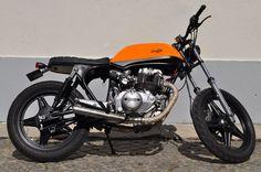Honda CB400N Feito na Garagem