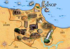 """@Behance projeme göz atın: """"Culture Map"""" https://www.behance.net/gallery/58098837/Culture-Map"""